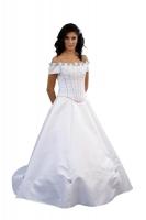 Brautkleid Röschen