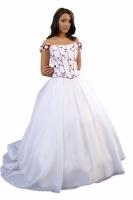 Elegantes Hochzeitskleid