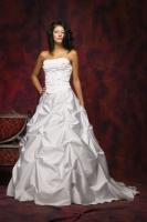 Prinzessinen-Brautkleid mit Perlen