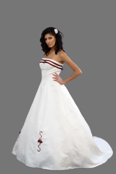 Brautkleid Aus Satin Brautmode Shop Com Braut Abendmode Online