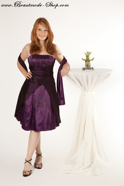 Cocktailkleid in lila