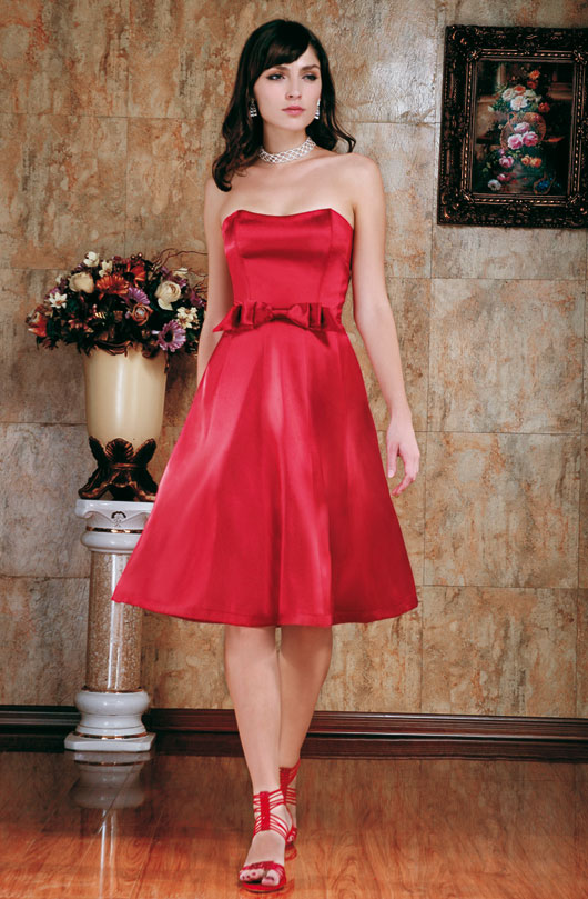 Cocktailkleid in rot | Brautmode-Shop.com | Braut + Abendmode Online ...