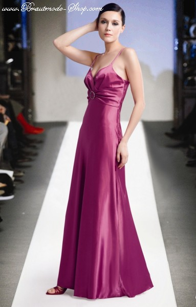 Abendkleid/Abikleid brombeer | Brautmode-Shop.com | Braut + ...