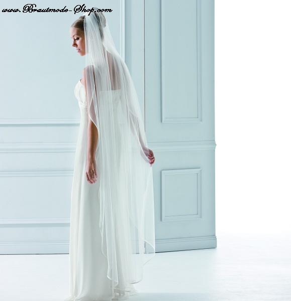 Brautschleier 200cm x 180cm brautmode braut for Brautschleier ivory einlagig