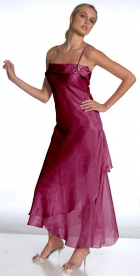 Abendkleid Abikleid bordeaux | Brautmode-Shop.com | Braut + ...