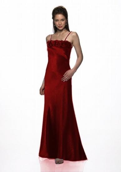 Abendkleid Rosen mit passender Stola, bordeaux | Brautmode-Shop.com ...