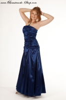 Abendkleid royalblau