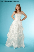 Brautkleid Sina aus Taft mit Spitze