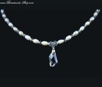 Halskette mit Süßwasserperlen