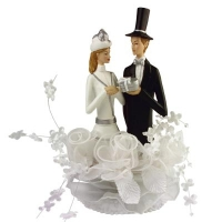 Aufsatz Elegantes Brautpaar