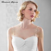 Träger Brautkleid Strapette