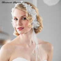 Haarband mit Blüten