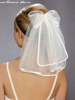 kurzer Braut - Schleier