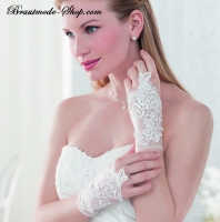 Brauthandschuhe Spitze