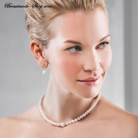 Schmuckset Perlenkette