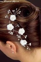 Haarschmuck Blütenranke