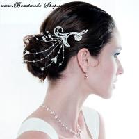 Haarschmuck für die Braut.