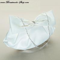 Braut-Handtasche  mit Schleife
