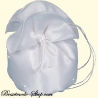 Brautbeutel zarte Perlen