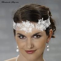Stirnband mit Spitze