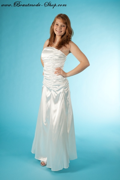Brautkleid schmale For...