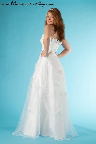 Brautkleid mit Rosen  Brautmode-Shop.com  Braut + Abendmode Online ...