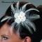 Haarclip Blume