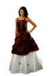 Brautkleid Bordeaux