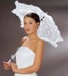 Braut Sonnenschirm   weiss
