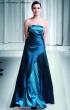 Ausgestelltes Abendkleid Royalblau