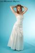 Brautkleid  schmale Form