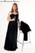 Abendkleid schwarz  Groesse  36