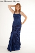 2 teiliges Abendkleid royalblau