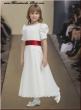 Kommunionkleid Blumenkindkleid  ivory 12 13