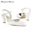 Brautschuh Isabell  Farbe  Groesse   weiss  37