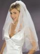 romantischer Brautschleier Perlen