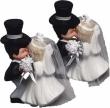 Kuessendes Brautpaar