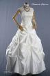 Brautkleid Sina aus Taft mit Spitze  Groesse  36