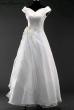 Brautkleid mit Stickerei  Weiss_38