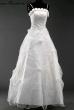 Brautkleid mit Rosen  Farbe  Groesse  Weiss_36