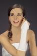 Brauthandschuh Spandex   weiss