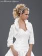 Braut-Bolero aus Taft