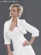 warmer Bolero für Braut- Abendkleid Farbe, Größe: weiß, L