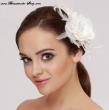 Braut Haargesteck mit Bluete