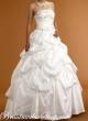 Brautkleid mit edler Spitze   40 weiss