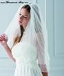 Brautschleier mit Perlen und Strass