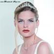 Braut Schmuckset mit Diadem    silber