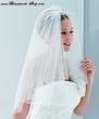 Brautschleier  Farbe  weiss