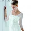 Bolero Jacke für die Braut