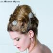 moderner Haarschmuck zur Hochzeit